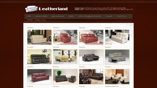Leatherland Recliners