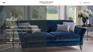 Kingcome Fabric Sofas