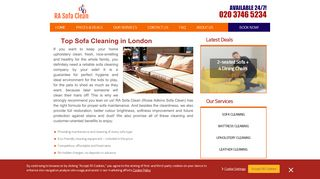 Sofa Cleaners London